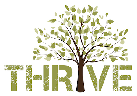 THRIVE where the I is a tree